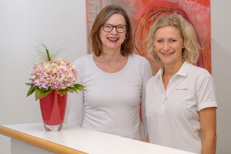 Frauenärztinnen Dr. Annette Beushausen, Dr. Michaela Fehling